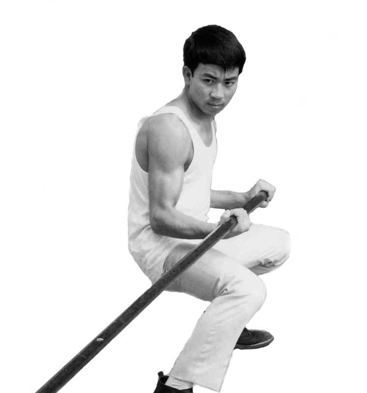 Sifu Nelson Chan with 17 years old